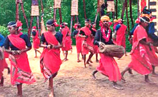 Tribal Costumes of Madhya Pradesh