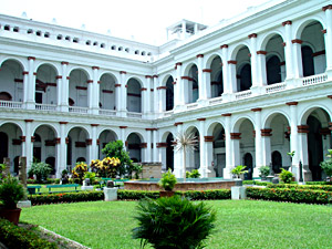 Indian Historical Court Yard  kolkata Museums