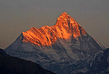 Nanda Devi East Peak, Mountain Peak Of India