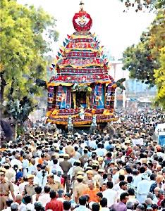 Panguni Uthiram festival Chidambaram, Tamil Nadu, South India