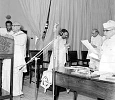 Pattom A. Thanu Pillai - Oath of Office