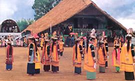 Nongkrem Festival of Khasi Tribe, Meghalaya