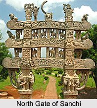 Northern Gateway at Sanchi