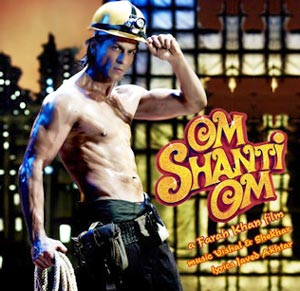 Om Shanti Om, the Indian film