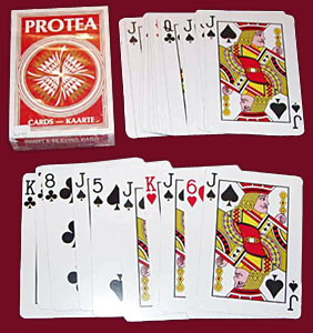 Playing card in India
