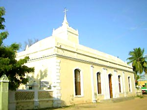 Protestant Church in Nagappattinam, Tamil Nadu