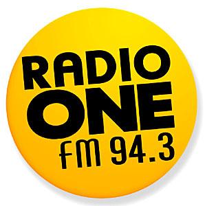 Radio One is a national radio station, operating at 94.3 megahertz.