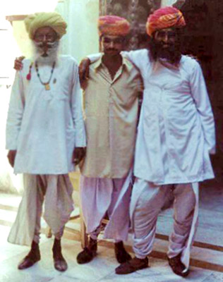 Kurta, Costume for Rajasthani Men