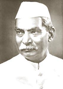 Congress president Rajendra Prasad