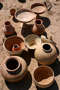Indian Tribal Crafts pottery