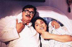 Rakesh Bedi in Jaane Bhi Do Paro