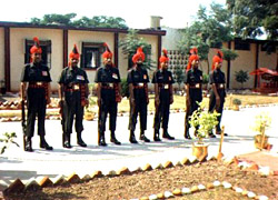 Regimental Center of Jammu & Kashmir Rifles, Jabalpur