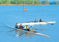 Rowing at Chandigarh