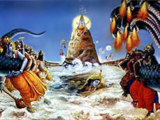 Kurma Avatar - Samudra Manthan