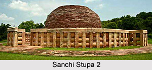 Sanchi Stupa No. 2