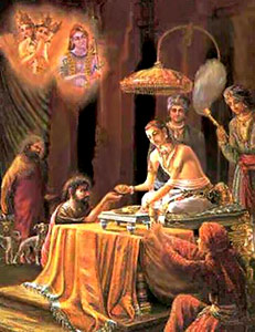 Rantideva, King Of The Lunar Race