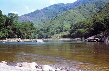 Kameng River - One of Tributary of Brahmaputra River