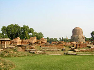 Sarnath, near the city of Varanasi