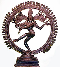 Shiva-Nataraja in his Cosmic Dance Pose