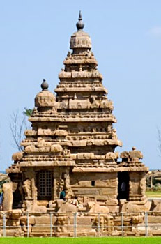 Shore Temples at Mahabalipuram