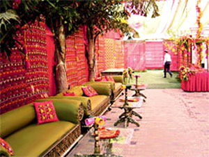 Wedding  Decorations on Sangeet Decorations Of Wedding Vary Depending Upon The Theme Of The