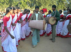 Dance of Santhal Tribe
