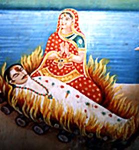 Sati, Indian Custom