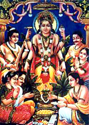 Satyanarayana Swamy Photo High Resolution http://www.indianetzone.com/11/satya_narayana_vrata.htm