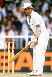 S Gavaskar, Indian Cricket