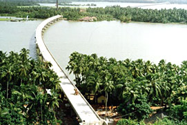 Sharavati River at Karnataka
