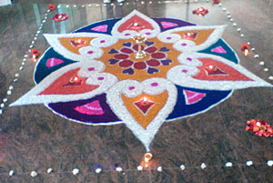 Indian Festivals Rangoli