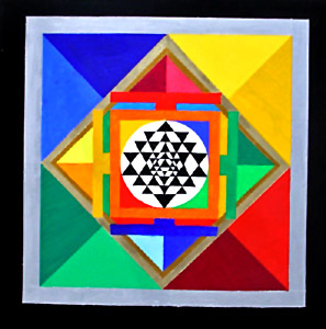 Sri yantra, Symbol For Meditation, Yantras