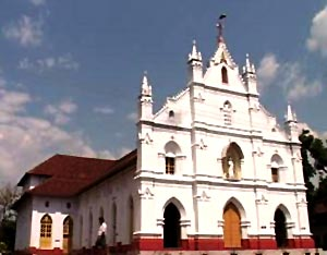 St. Mary's Church in Kottayam, South India