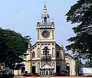 St.  Mary's Ferona Church in Kottayam, South India