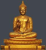 Sravasti - Buddha Statue