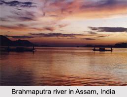 Course of Brahmaputra River