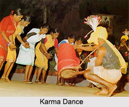 Karma Dance, Folk Dances of Madhya Pradesh