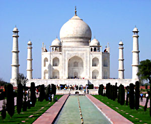 Taj Mahal , The pride of the world.
