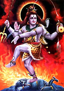 Ananda Tandava, Dance by Lord Shiva