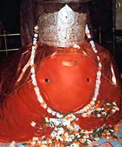 Ganesh Idol at Tekdi Ganapati Temple, Nagpur