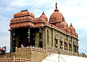 Vivekananda Temple in Kanyakumari, Tamil Nadu