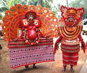 Teyyam Dancers