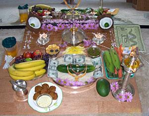 Varushapirappu , Tamil New Year Ritual