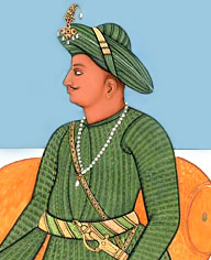 Tipu Sultan of Mysore of India