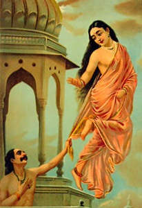 Urvshi and Pururavas, Son Of Buddha