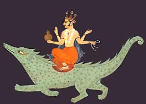 Lord Varuna, Puranic Deity