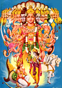 Vishvarupa, Universal Form of Lord Krishna