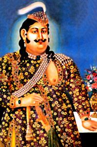 Wajid Ali Shah, in Lucknow