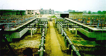 Sewage Treatment Plant under Yamuna Action Plan at Faridabad