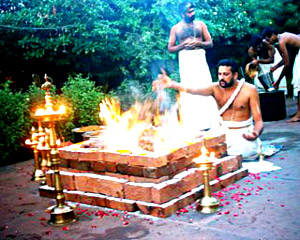 homa in Yajna, Indian Custom